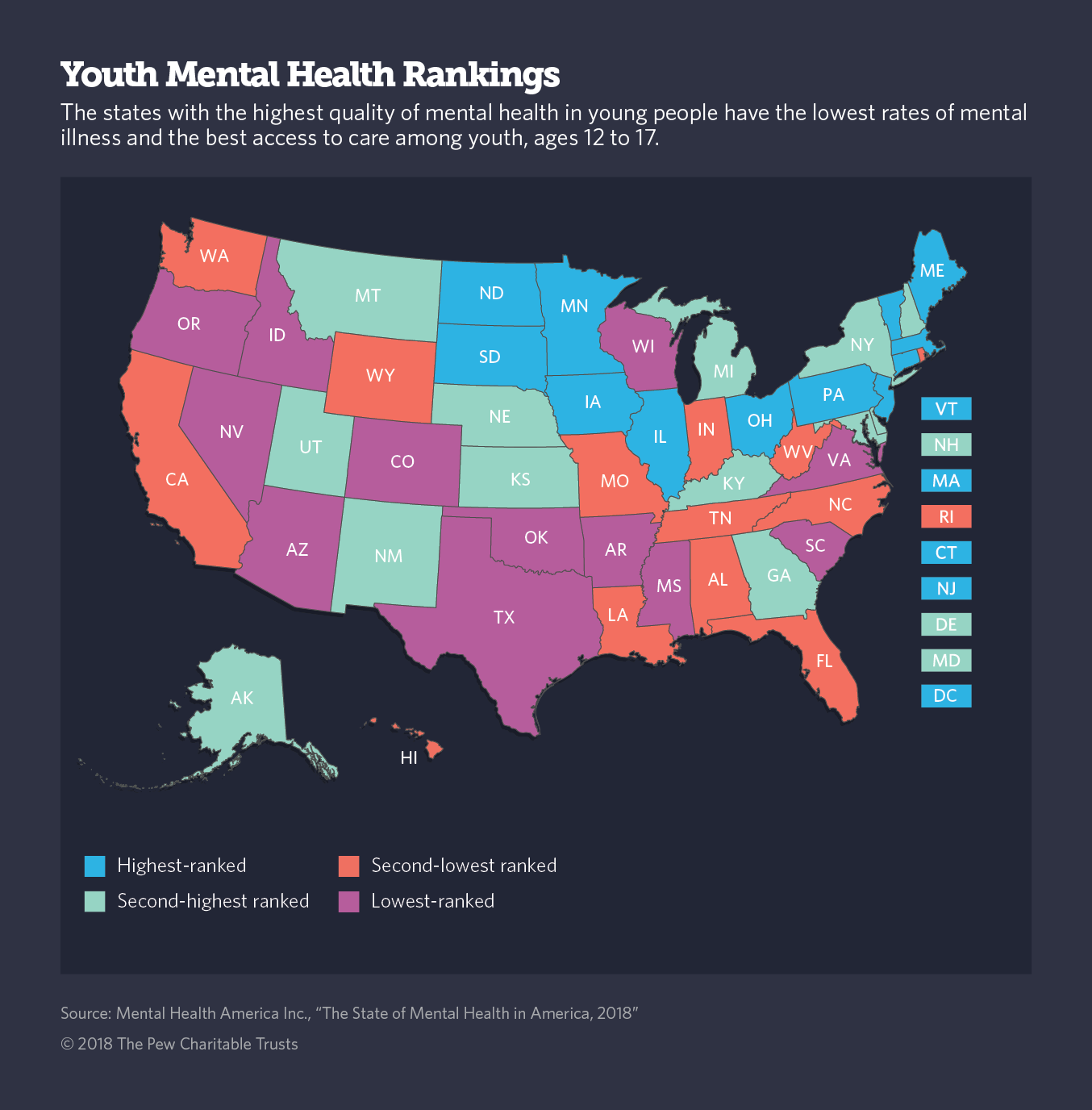 Many Recommend Teaching Mental Health In Schools Now Two States