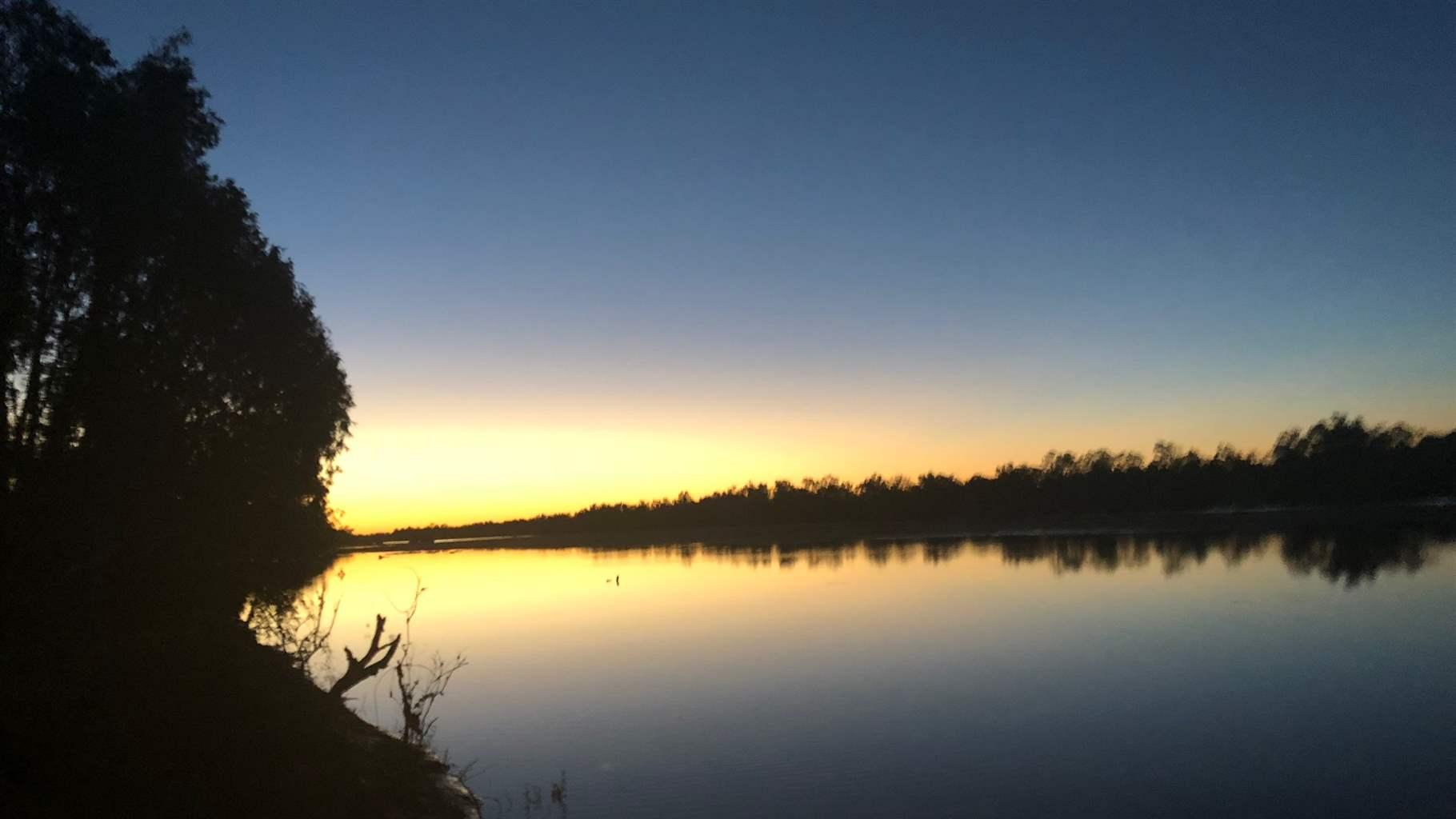 Margaret river in april