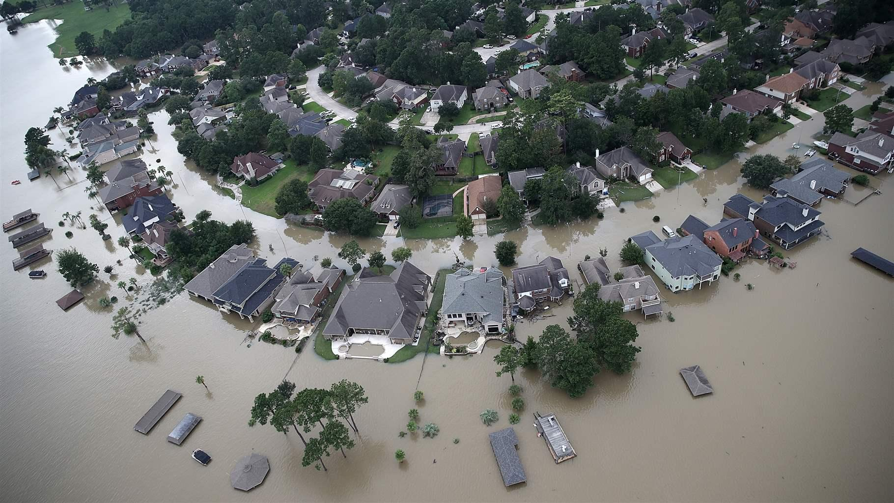 A Year After Hurricane Harvey, Congress Still Hasn't Improved U.S. Flood Policy