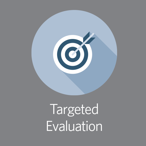 Targeted evaluation