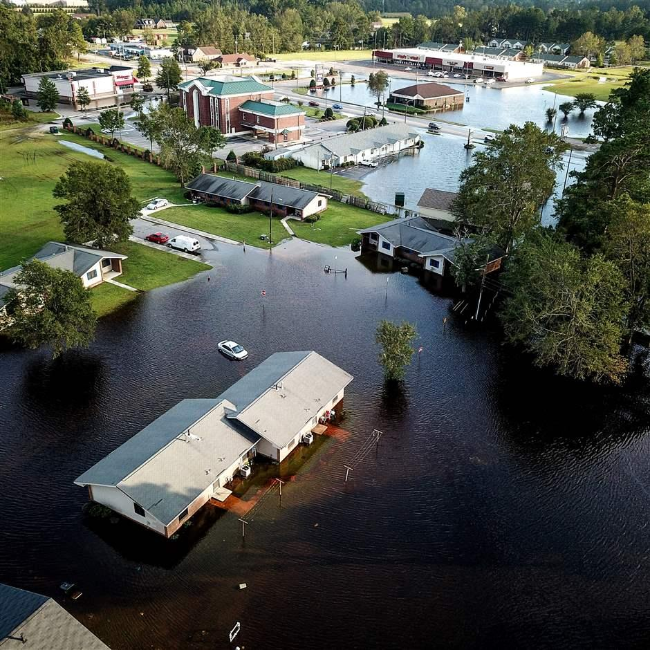 Flooded community