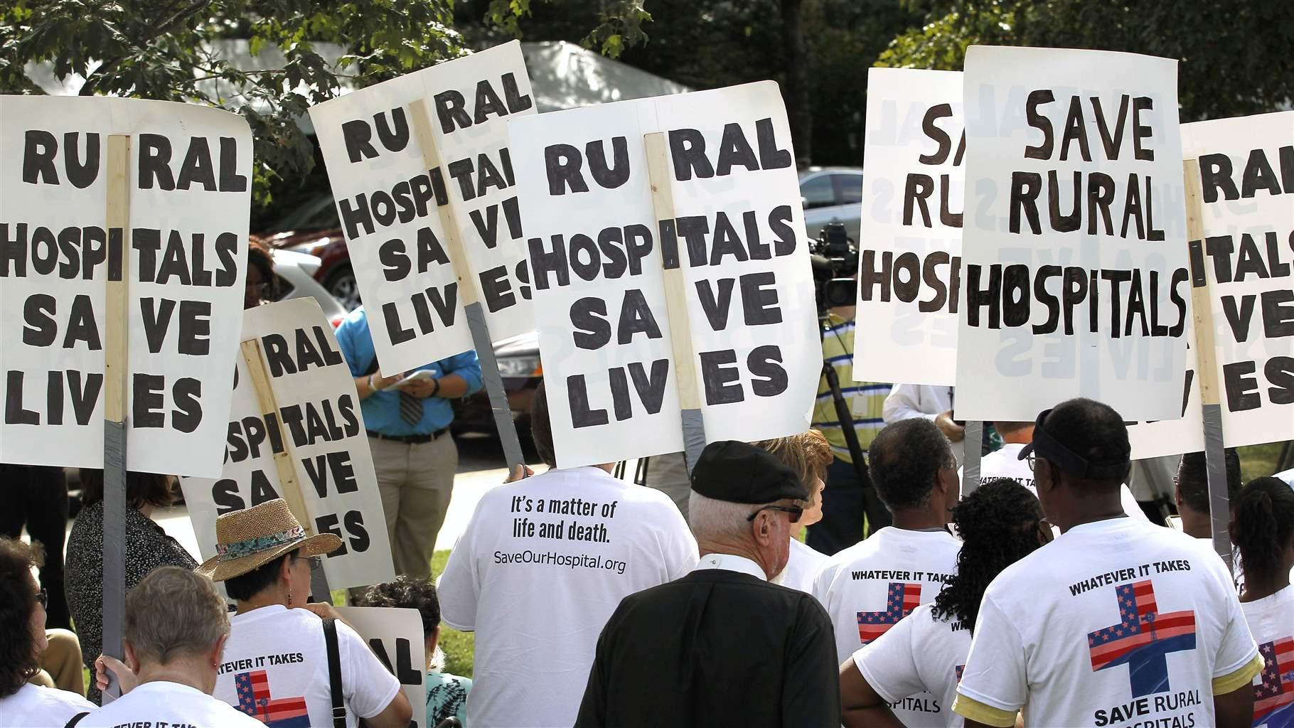 Rural Hospitals in Greater Jeopardy in Non-Medicaid Expansion States