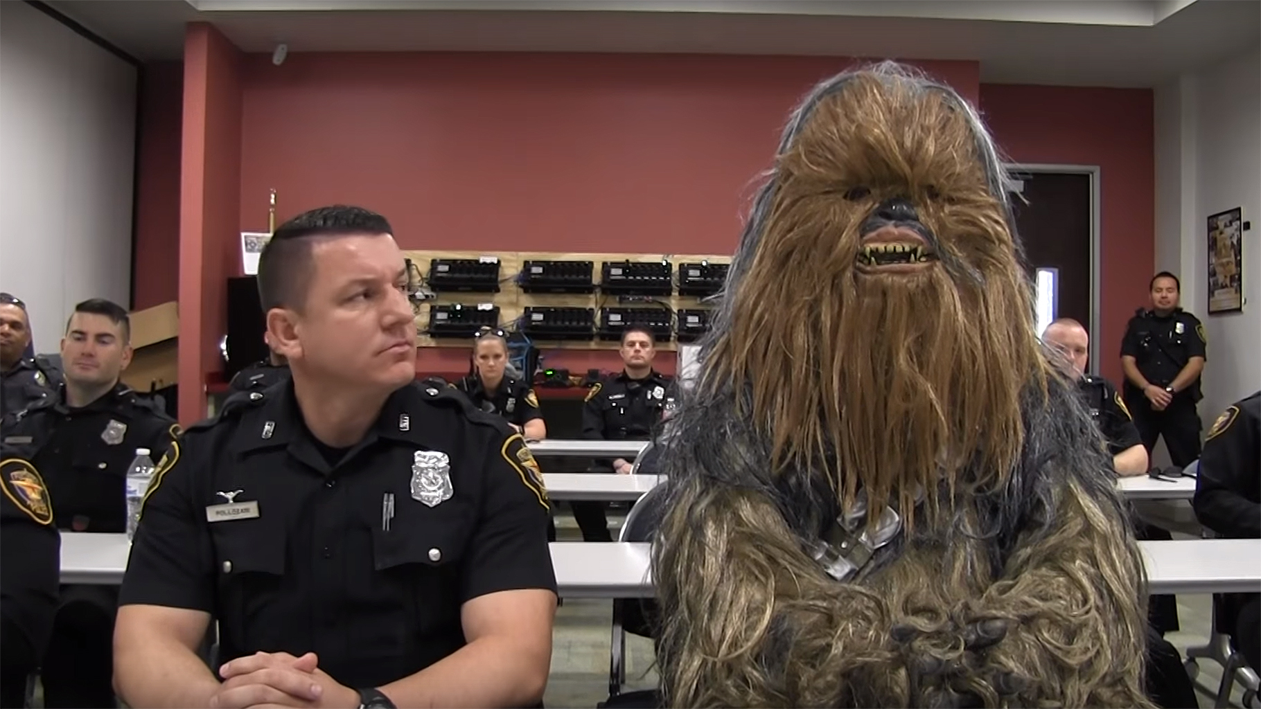 Police Departments Waive Tattoo Bans, Enlist Wookiees to