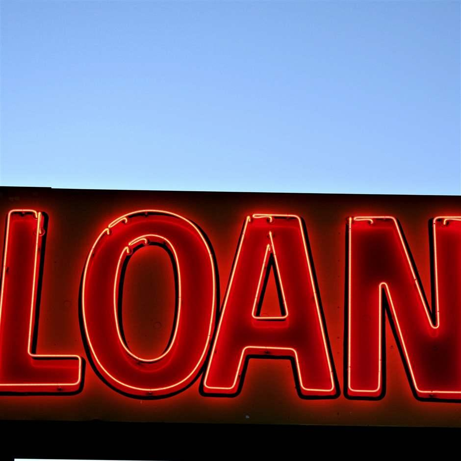 Loans sign