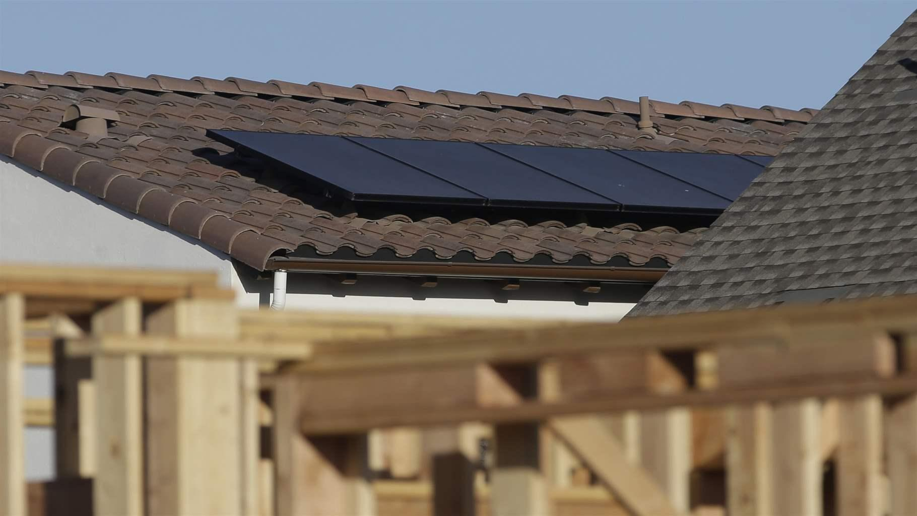 California Warms to Solar Homes
