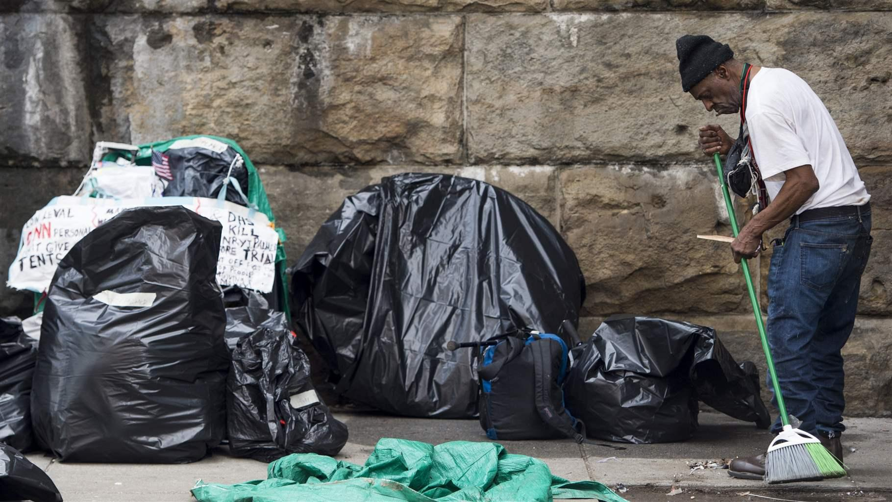 This City Might Give Homeless People the Right to Camp