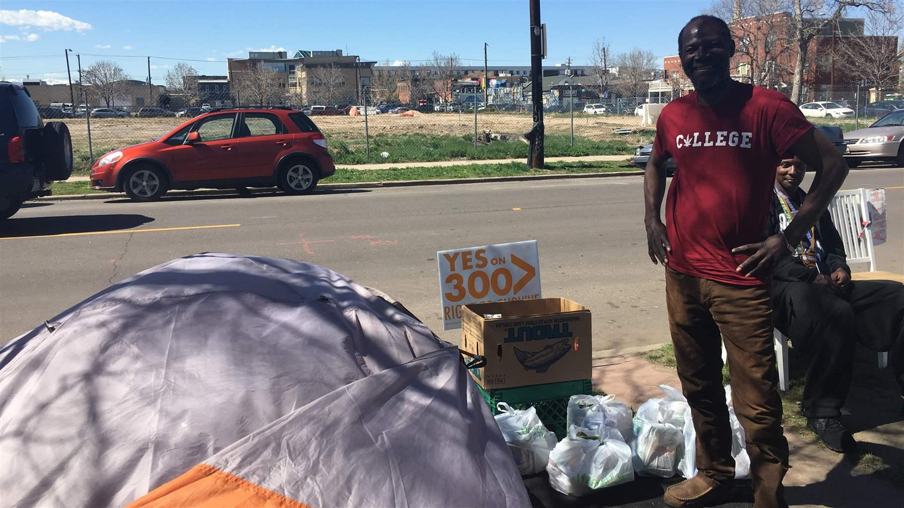 This City Might Give Homeless People the Right to Camp Anywhere