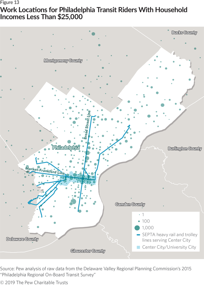The Cost of Commuting for Philadelphians   The Pew ... Septa Trolley Map on philadelphia trolley map, new orleans trolley map, dallas trolley map, pittsburgh trolley map, washington dc trolley map, tucson streetcar route map, i ride trolley map, green line trolley map, portland light rail map, san diego trolley map, new haven trolley map, charlotte trolley map, cleveland rta trolley map, san francisco trolley map, tampa trolley map, memphis trolley map, mbta trolley map, mts trolley map, waikiki trolley map, metro station paris map,