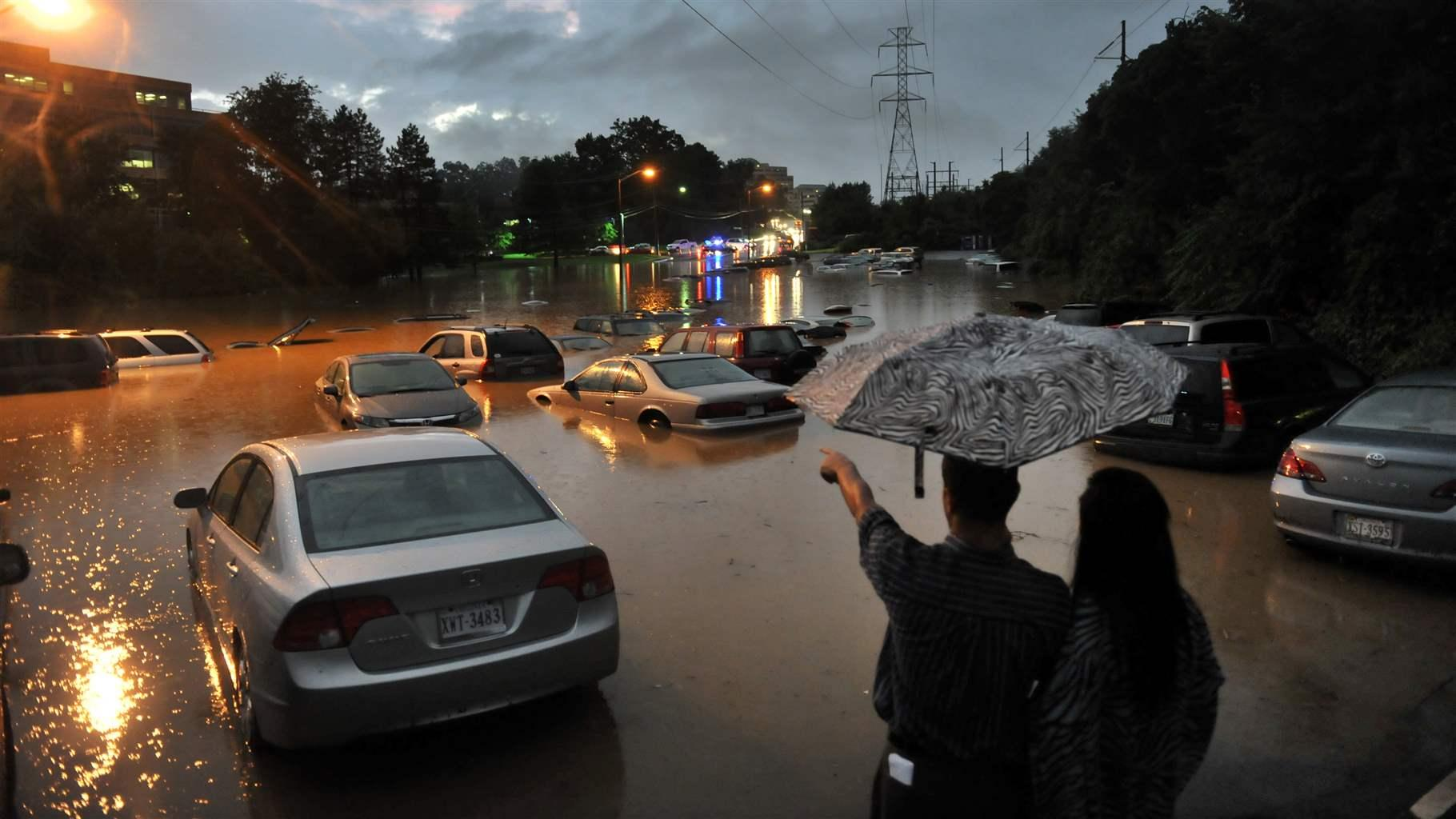Flooding in Reston VA