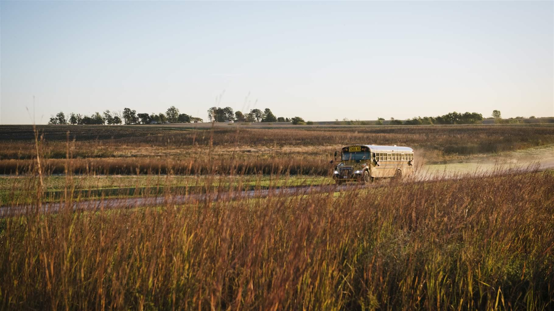 Rural bus route
