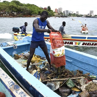 Ocean clean-up efforts