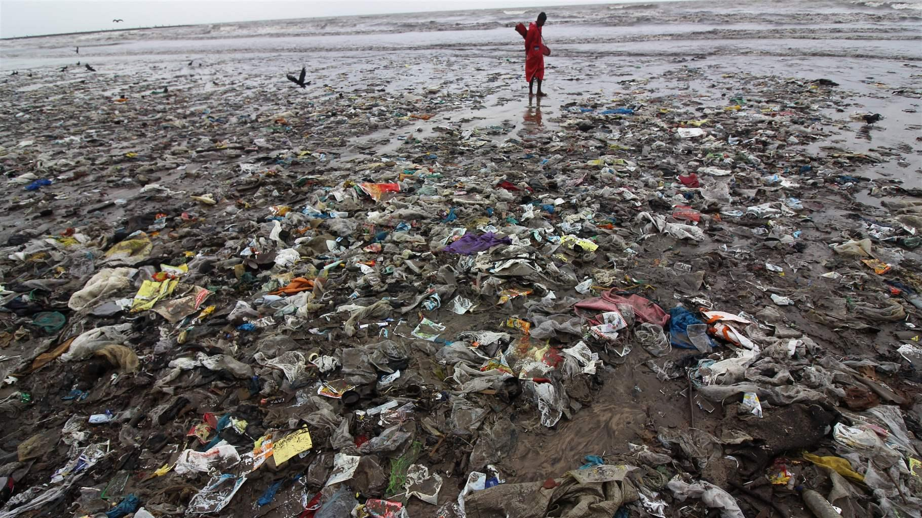 Science study shows that nearly 80 percent of the annual plastic flow into  the environment   The Pew Charitable Trusts