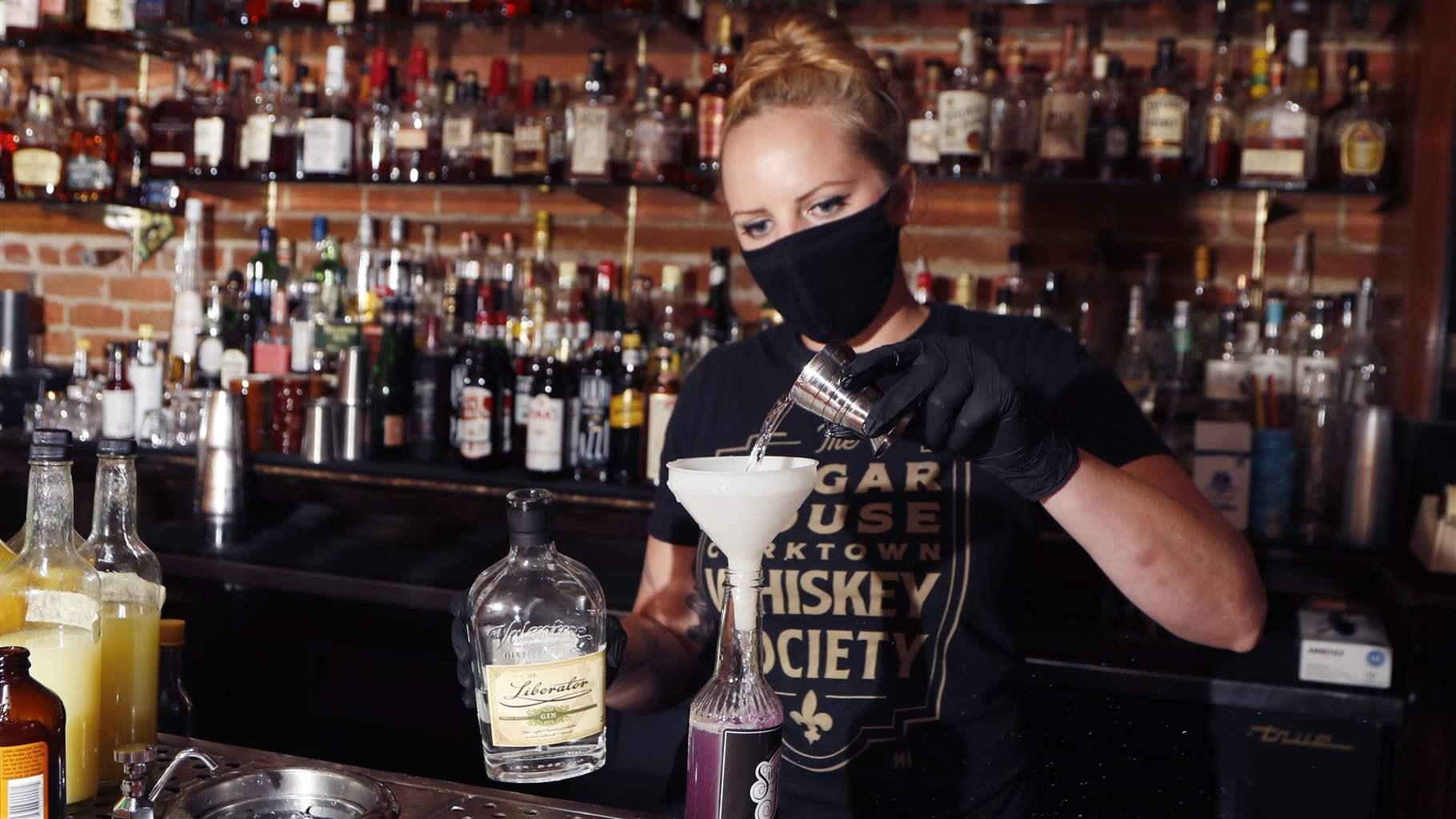 Sugar House bartender