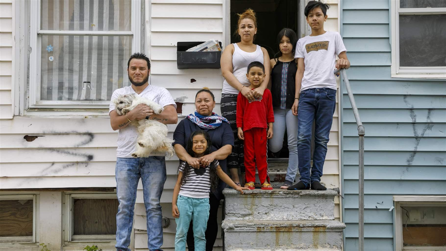 Evicted family