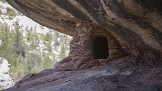 cliff dwelling in Manti-La Sal National Forest