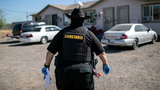 Maricopa County constable with eviction order