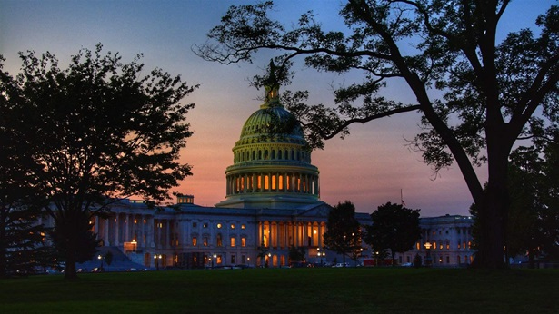Capitol Building at dusk
