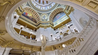 Rotunda at the Pennsylvania Capitol Harrisburg