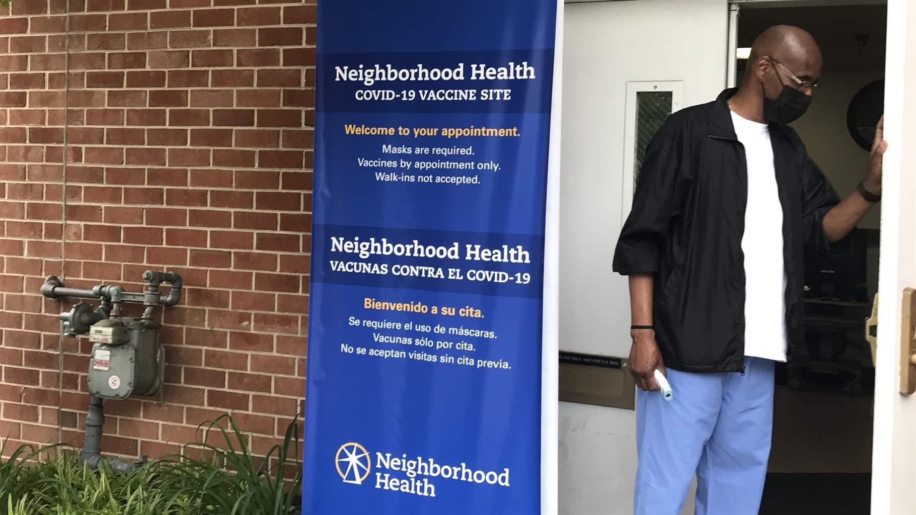 Neighborhood Health vaccination clinic