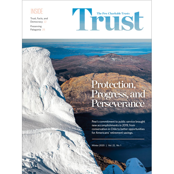 Trust Magazine Cover Winter 2020