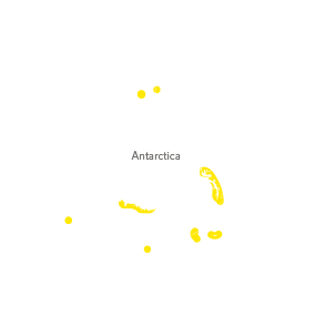 Chinstrap Penguin Map