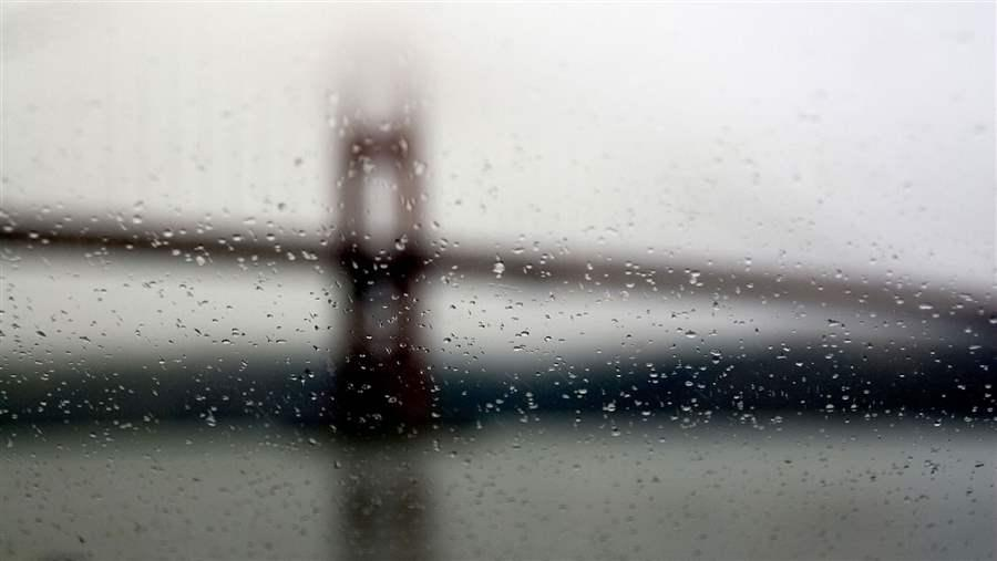 Bridge on a Rainy Day