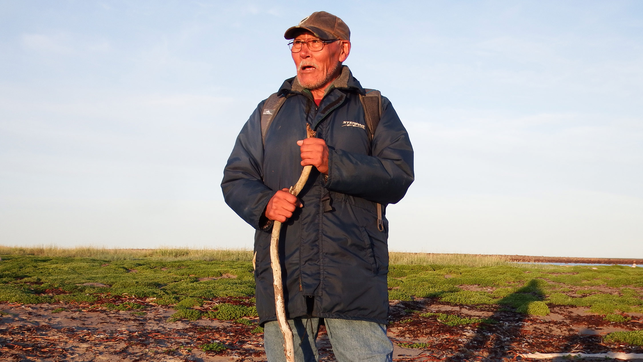 Peter Alareak, an Inuit elder.