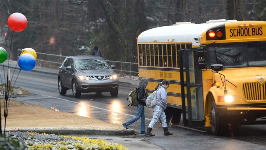 States Use Cameras To Crack Down On School Bus Scofflaws