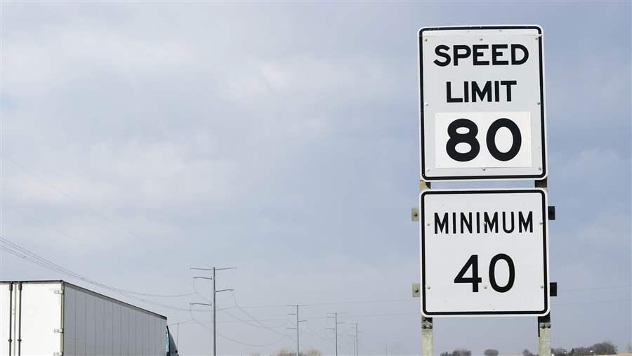 Rising Speed Limits Spur Safety Concerns - Us highway speed limits map