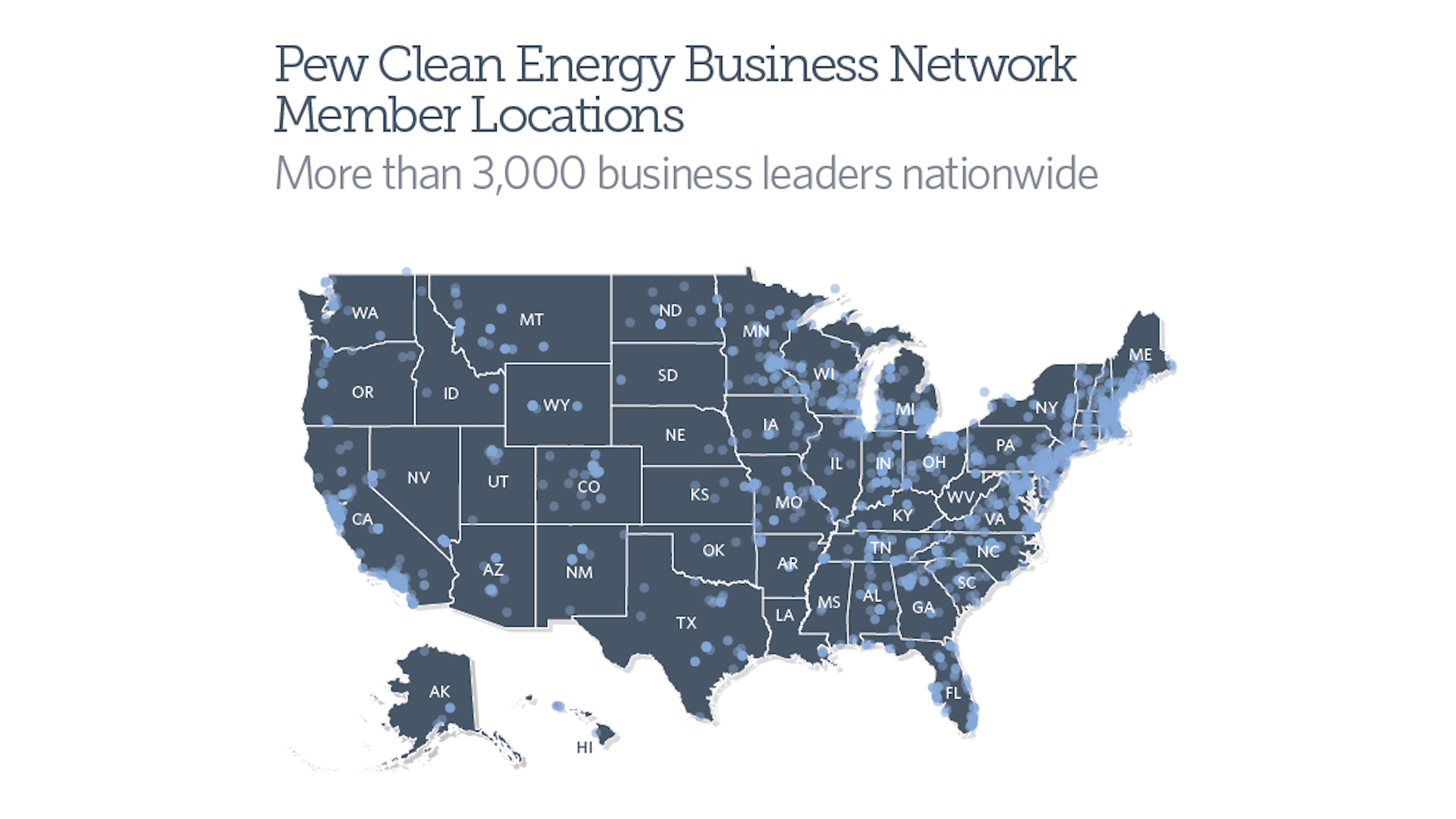 Clean Energy Map