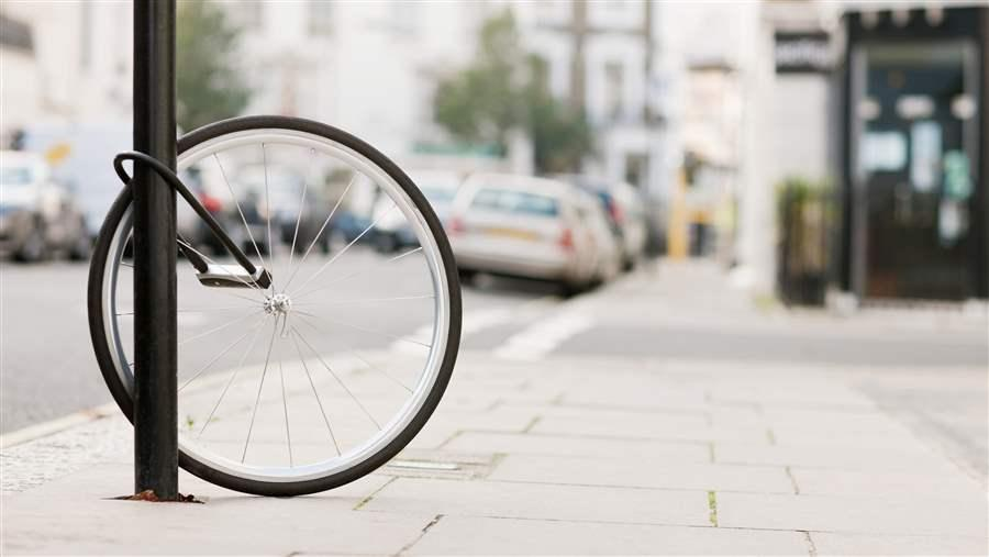 Stolen Bicycle Wheel