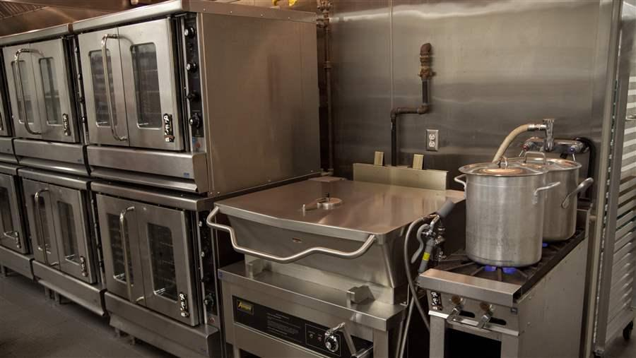 School Cafeteria Kitchen ~ Public private partnerships offer school kitchen grants to