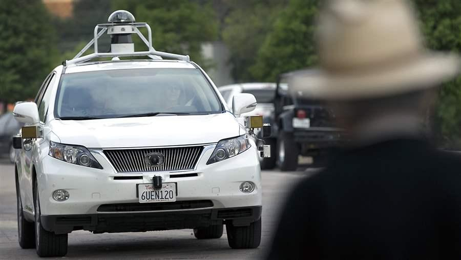 Google self-driving SUV