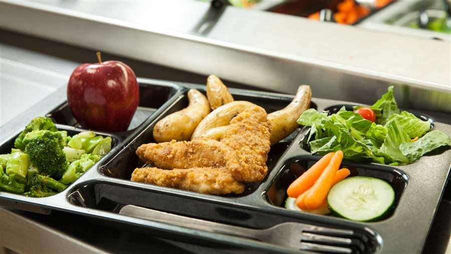 research paper on healthier school lunches