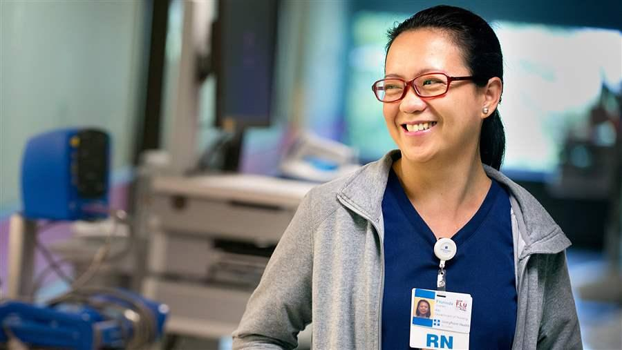 Can you trust nurses who completed their education through an online program?
