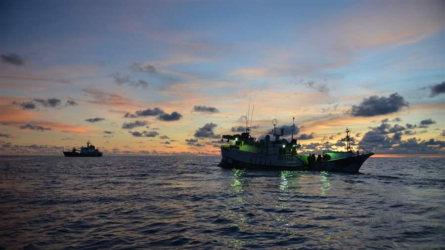 Tracking illegal fishing