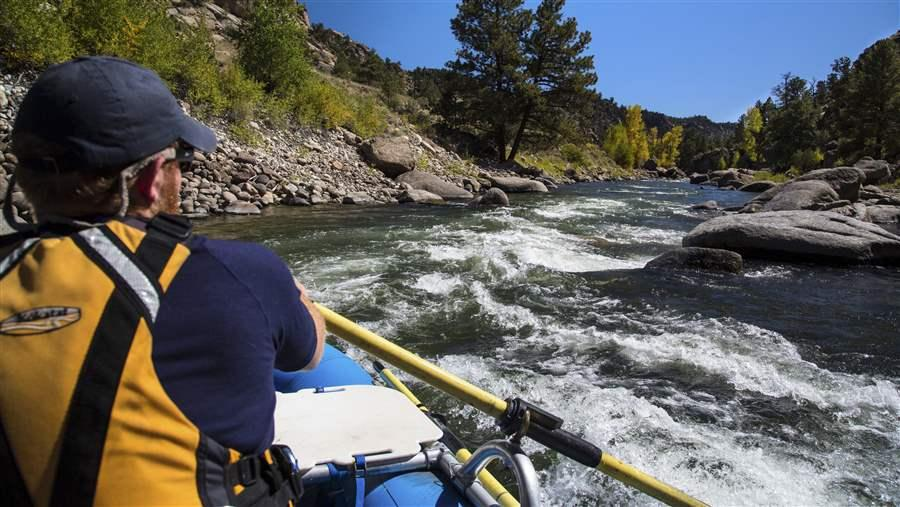 Arkansas River rafting