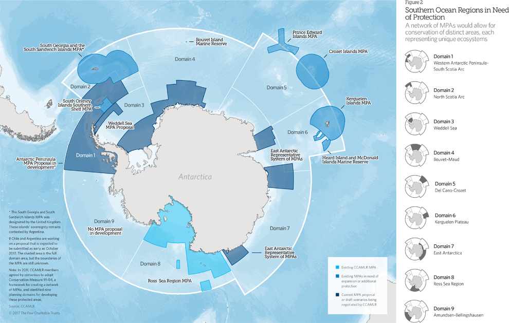 Marine protected areas in the Southern Ocean