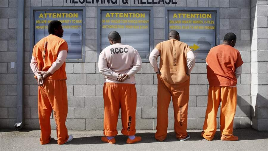 Prisoners in Tracy, California