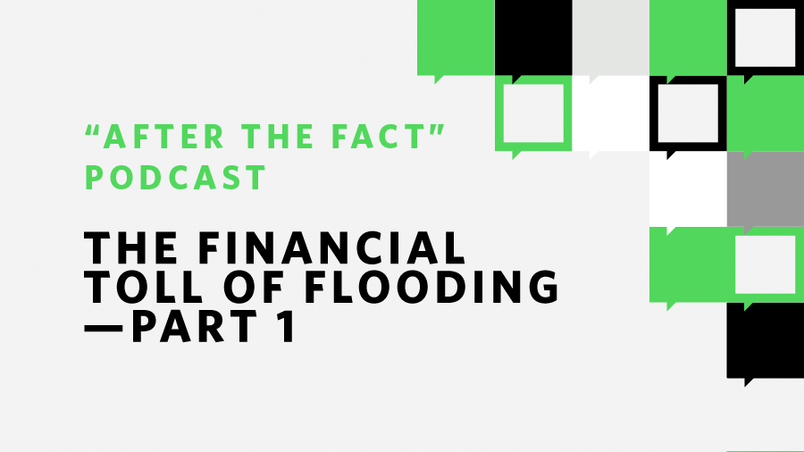 Knitting Lifeline After The Fact : The financial toll of flooding part