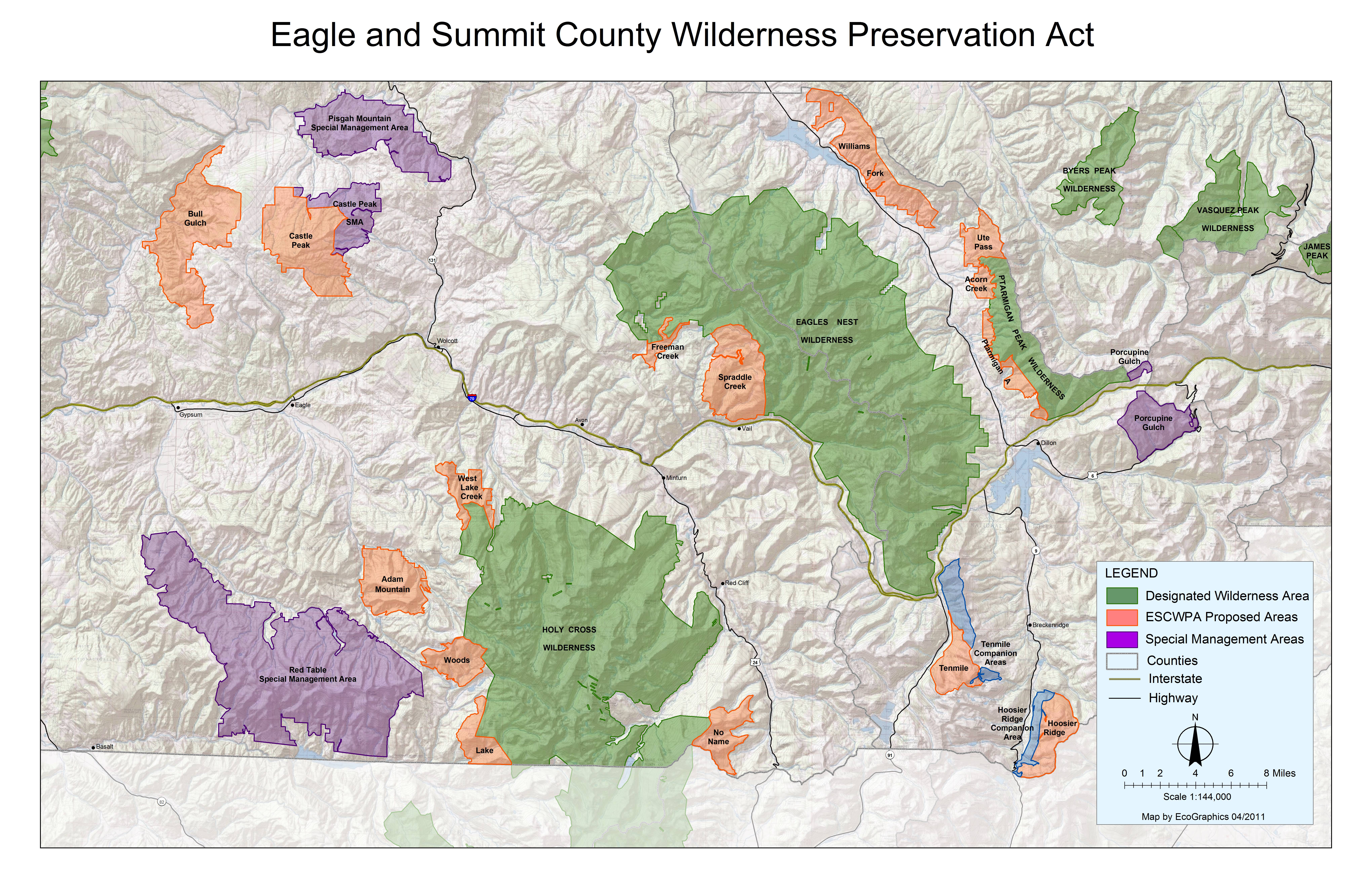 Eagle and Summit County Wilderness Preservation Area