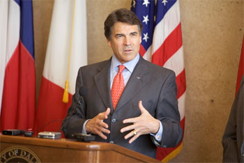 Texas Governor Rick Perry, pictured, is among the toughest critics of President Obama's health care initiative.