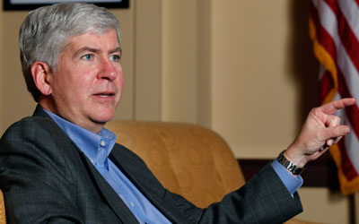Rick Snyder photo