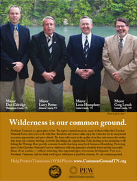 Wilderness is Our Common Ground, Mayors