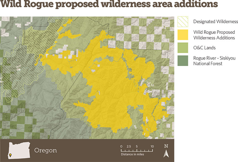 Wild Rogue proposed wilderness area additions