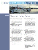 Ocean Science Factsheet: Common Fishery Terms