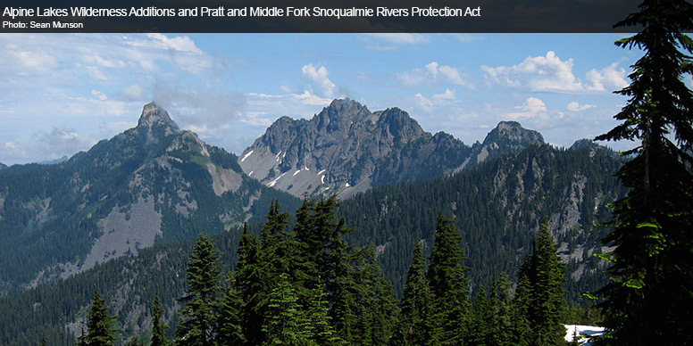 Alpine Lakes Wilderness Additions and Pratt and Middle Fork Snoqualmie Rivers Protection Act