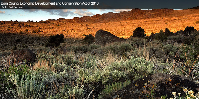 Lyon County Economic Development and Conservation Act of 2013 (S 159)