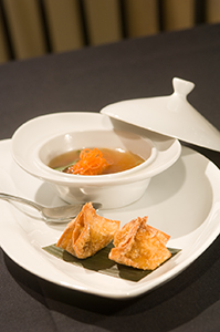 Blue King Crab Rangoon