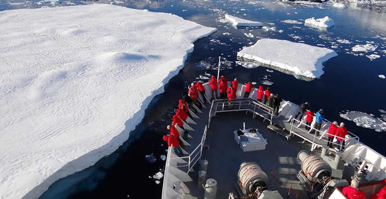 Antarctic scientists